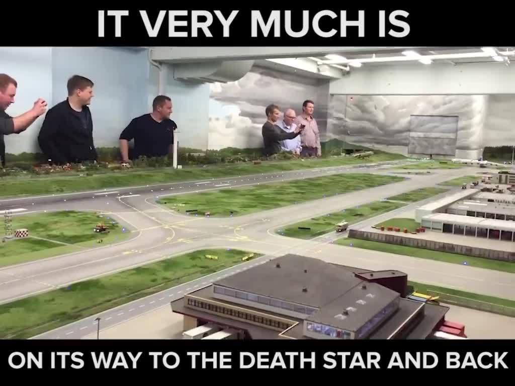 funkční model letiště