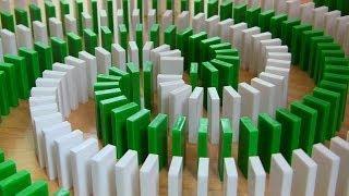 Domino v akci - neuvěřitelná sestava