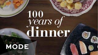 Jak se v průběhu 100 let měnily večeře