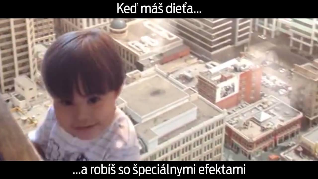 děti a speciální efekty
