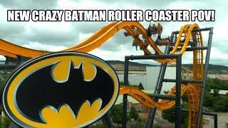 4D horská dráha v Batmanovským stylu (Six Flags Fiesta Texas)